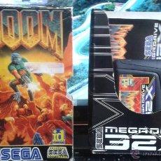 Videojuegos y Consolas: JUEGO DOOM 32X DE SEGA PAL. Lote 51955810