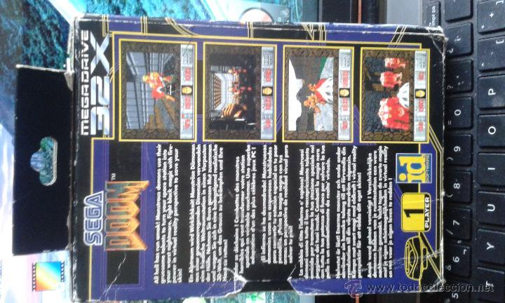 Videojuegos y Consolas: juego DOOM 32x de sega Pal - Foto 2 - 51955810