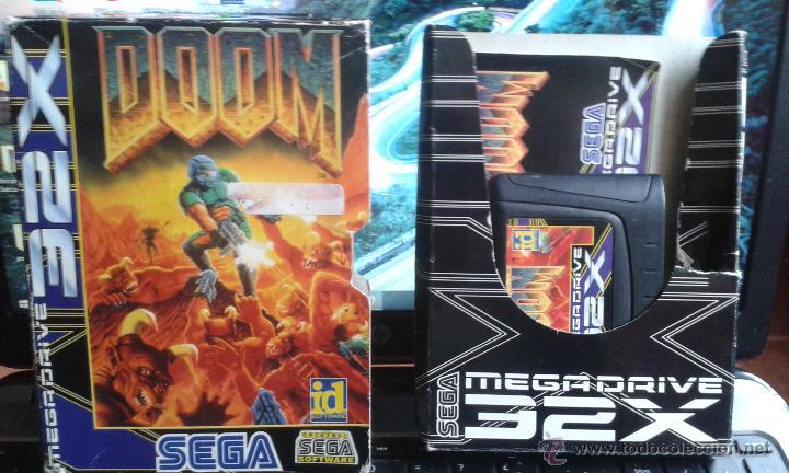 Videojuegos y Consolas: juego DOOM 32x de sega Pal - Foto 3 - 51955810