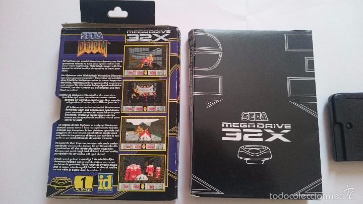 Videojuegos y Consolas: JUEGO Y CAJA DOOM SEGA MEGA DRIVE 32X PAL - Foto 5 - 55224380