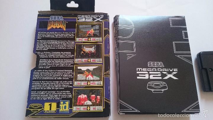 Videojuegos y Consolas: JUEGO Y CAJA DOOM SEGA MEGA DRIVE 32X PAL - Foto 7 - 55224380