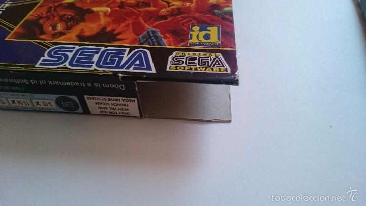 Videojuegos y Consolas: JUEGO Y CAJA DOOM SEGA MEGA DRIVE 32X PAL - Foto 8 - 55224380