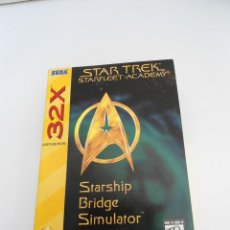Videojuegos y Consolas: STAR TREK - STARFLEET ACADEMY - STARSHIP BRIDGE SIMULATOR - GENESIS 32X - SEGA - COMO NUEVO. Lote 56611417