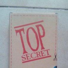 Videojuegos y Consolas: VHS TOP SECRET SEGA DIFICIL DE CONSEGUIR. Lote 61331807
