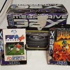 Videojuegos y Consolas: SEGA 32X + DOOM + FIFA 96 - COMPLETOS - BUEN ESTADO. Lote 75857407