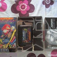 Videojuegos y Consolas: KNUCKLES CHAOTIX SEGA 32X. Lote 91885455