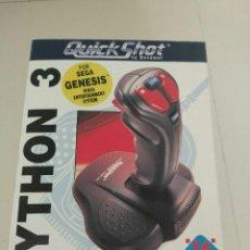 Videojuegos y Consolas: JOYSTICK QUICKSHOT PYTHON 3 SEGA. Lote 94976691