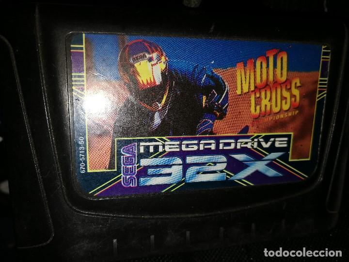 MOTO CROSS CHAMPIONSHIP SEGA 32X MEGADRIVE (Juguetes - Videojuegos y Consolas - Sega - Sega 32x)