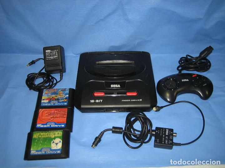 CONSOLA SEGA CON 3 JUEGOS. FUNCIONA (Juguetes - Videojuegos y Consolas - Sega - Sega 32x)