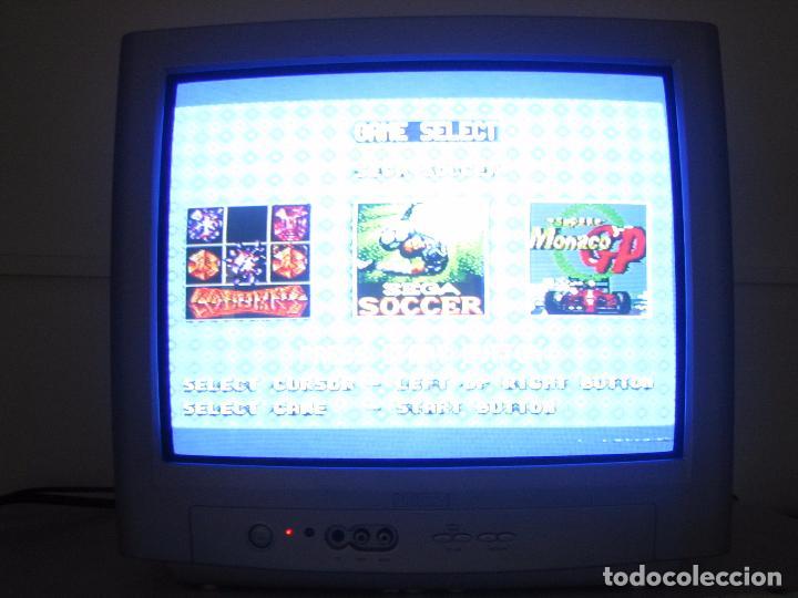 Videojuegos y Consolas: Consola Sega con 3 juegos. Funciona - Foto 2 - 101192375