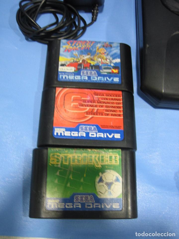 Videojuegos y Consolas: Consola Sega con 3 juegos. Funciona - Foto 6 - 101192375