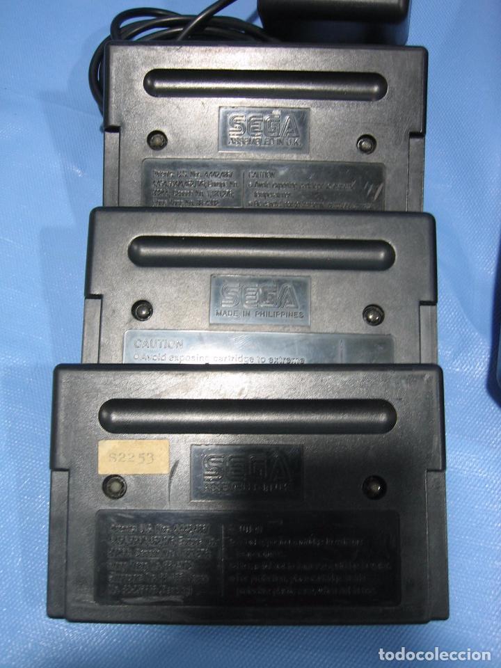 Videojuegos y Consolas: Consola Sega con 3 juegos. Funciona - Foto 13 - 101192375