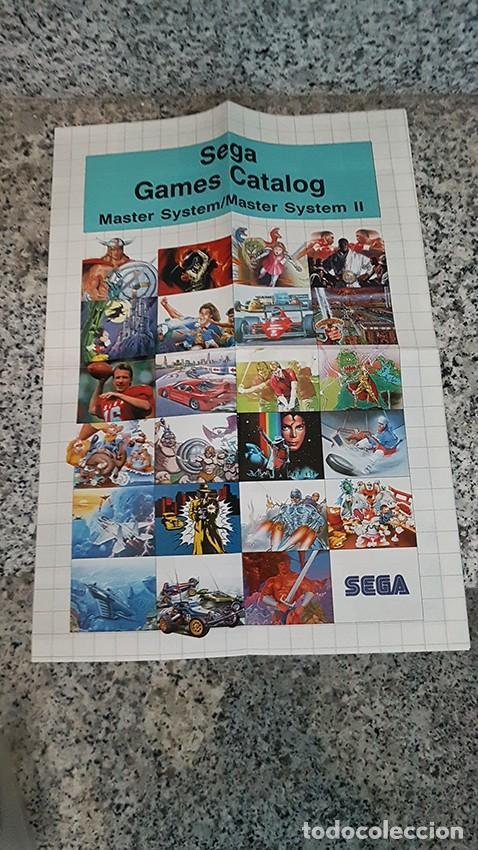 CATÁLOGO SEGA GAME CATALOG (Juguetes - Videojuegos y Consolas - Sega - Sega 32x)