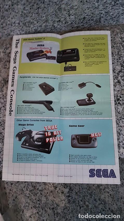 Videojuegos y Consolas: Catálogo Sega Game Catalog - Foto 3 - 118309547