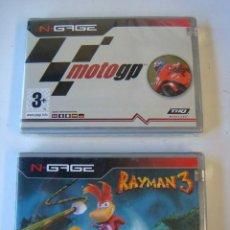 Videojuegos y Consolas: JUEGO PARA CONSOLA SEGA-LOTE DE DOS JUEGOS N GANE MOTO -GP Y RAIMAN 3. Lote 120832415