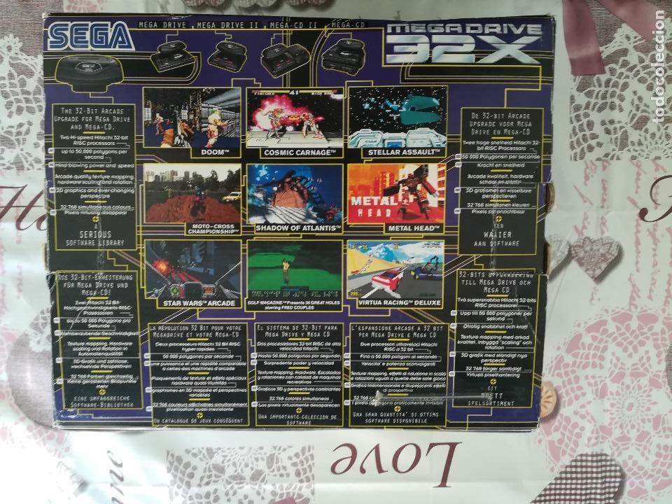 Videojuegos y Consolas: CONSOLA SEGA MEGADRIVE 32X - Foto 6 - 141663994