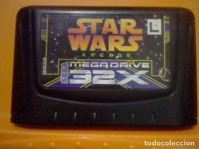 STAR WARS ARCADE JAPAN ORIGINAL MEGADRIVE MEGA DRIVE SEGA 32 X SOLO CARTUCHO SIN PROBAR LEER (Juguetes - Videojuegos y Consolas - Sega - Sega 32x)