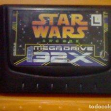 Videojuegos y Consolas: STAR WARS ARCADE JAPAN ORIGINAL MEGADRIVE MEGA DRIVE SEGA 32 X SOLO CARTUCHO SIN PROBAR LEER . Lote 162274418