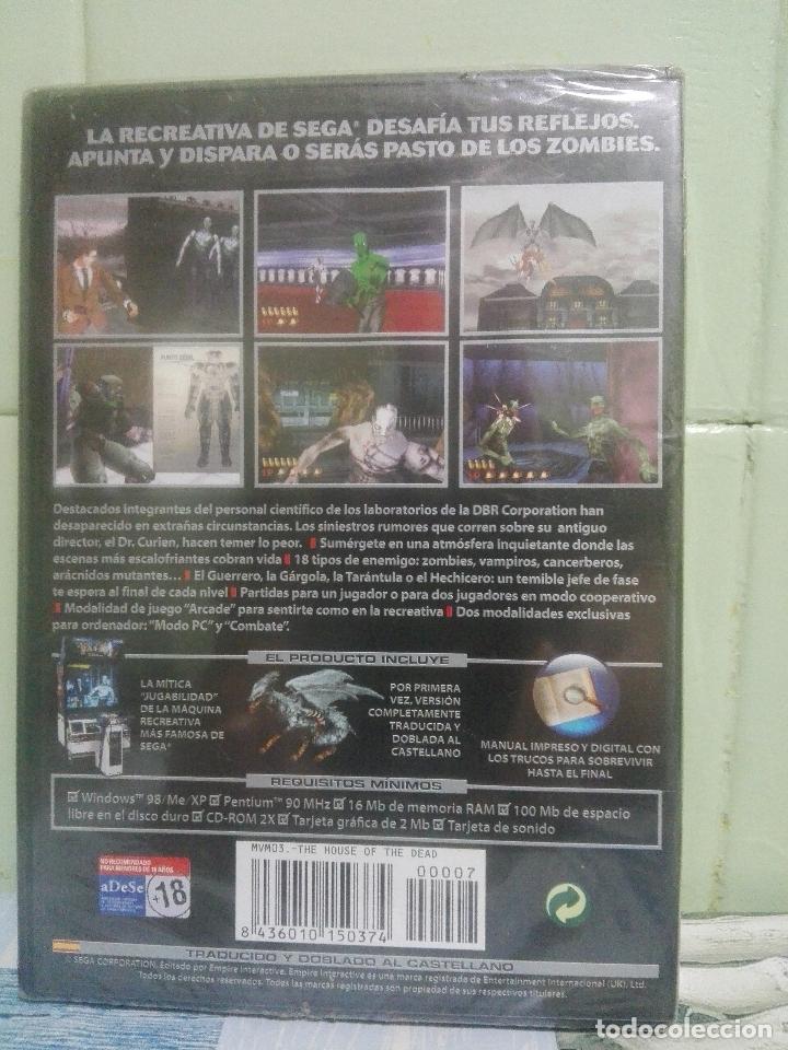 Videojuegos y Consolas: THE HOUSE OF THE DEAD - SEGA - PC PRECINTADO pepeto - Foto 2 - 172917015