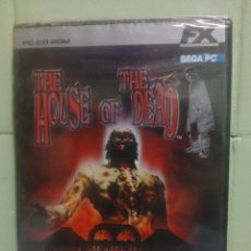 Videojuegos y Consolas: THE HOUSE OF THE DEAD - SEGA - PC PRECINTADO PEPETO. Lote 172917015