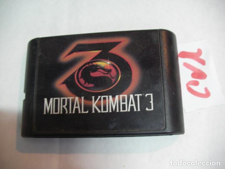 ANTIGUO JUEGO - MORTAL COMBAT 3 (Juguetes - Videojuegos y Consolas - Sega - Sega 32x)