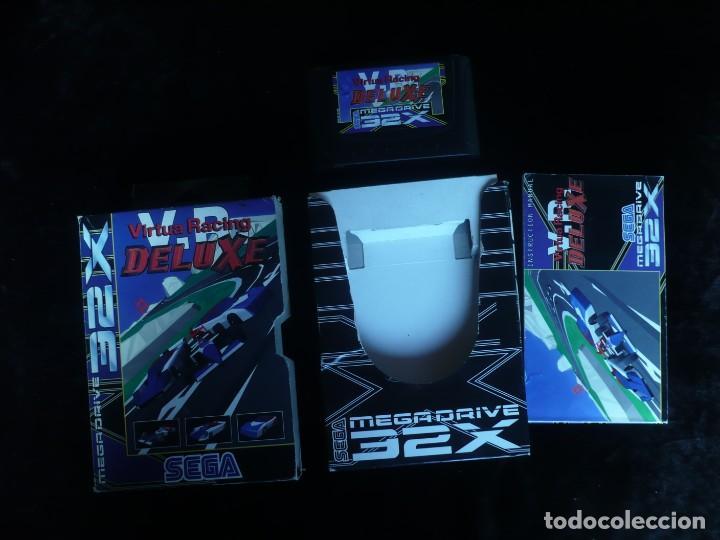 VIRTUA RACING DELUXE - COMPLETO (Juguetes - Videojuegos y Consolas - Sega - Sega 32x)