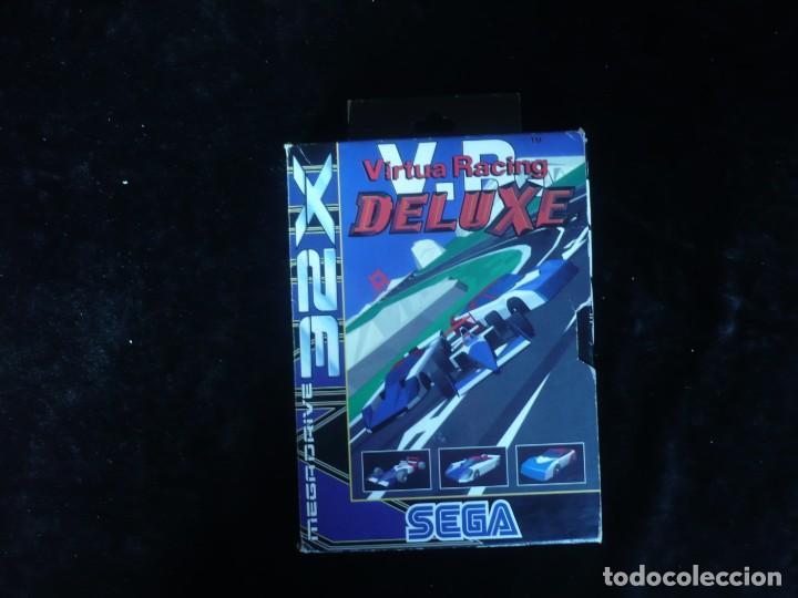 Videojuegos y Consolas: virtua racing deluxe - completo - Foto 2 - 191878350