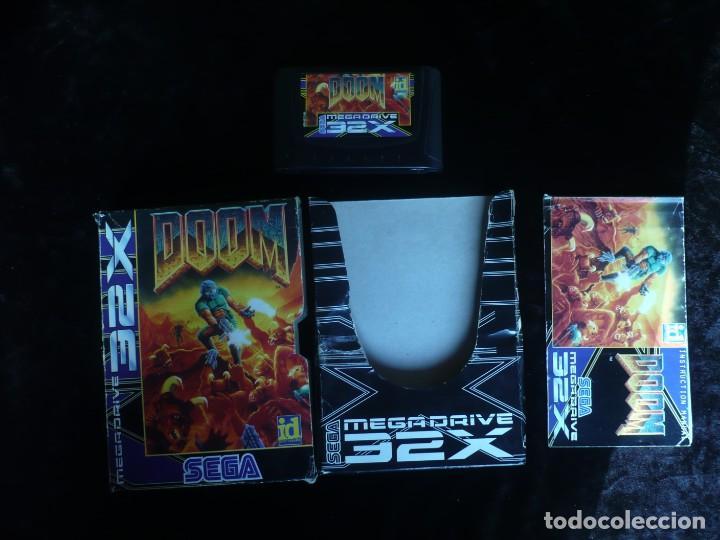 DOOM - COMPLETO (Juguetes - Videojuegos y Consolas - Sega - Sega 32x)