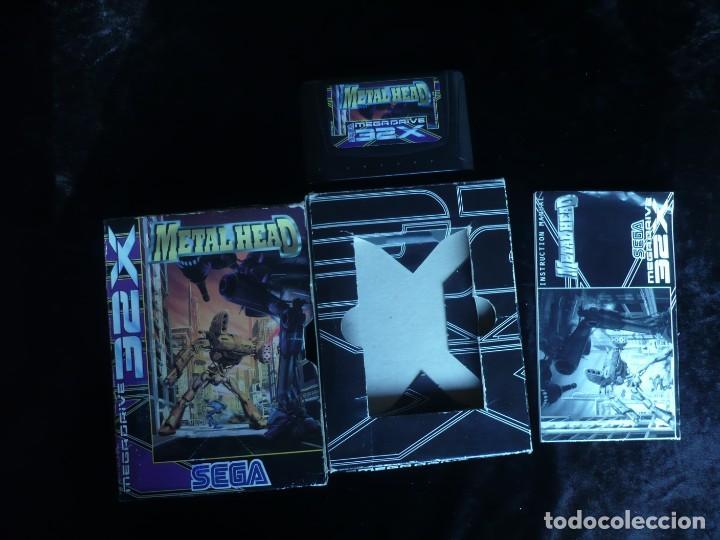 METAL HEAD - COMPLETO (Juguetes - Videojuegos y Consolas - Sega - Sega 32x)