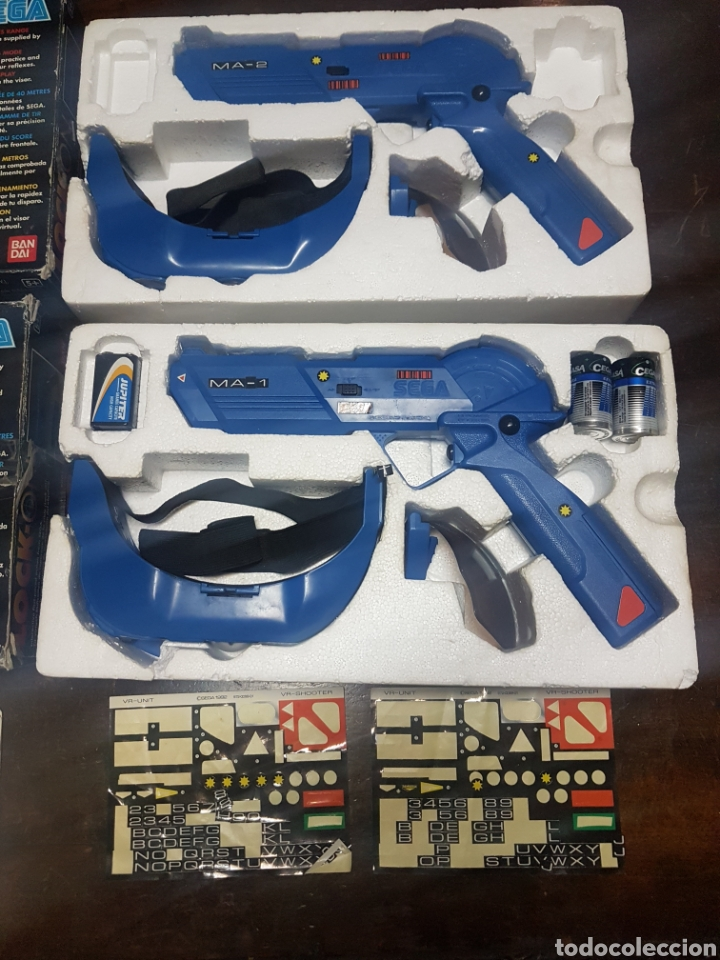 Videojuegos y Consolas: 2 Pistolas Lock-on Sega Bandai Ref. 8001 - Foto 3 - 193823431