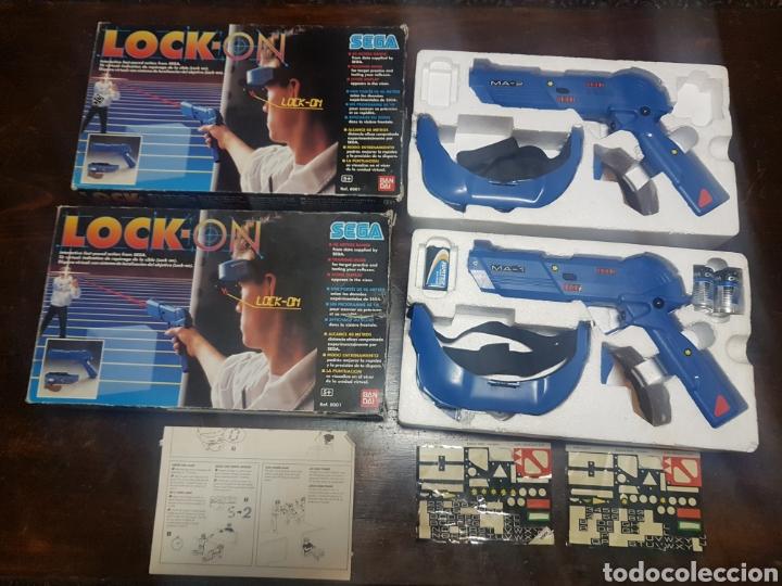 2 PISTOLAS LOCK-ON SEGA BANDAI REF. 8001 (Juguetes - Videojuegos y Consolas - Sega - Sega 32x)