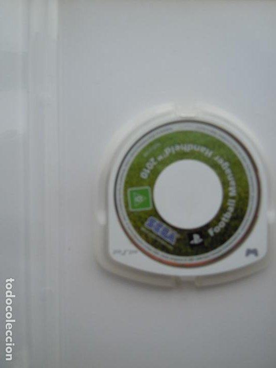 Videojuegos y Consolas: PSP FOOTBALL MANAGER HANDHELD 2010 SEGA - Foto 2 - 197819955