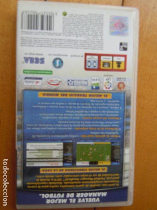 Videojuegos y Consolas: PSP FOOTBALL MANAGER HANDHELD 2010 SEGA - Foto 3 - 197819955