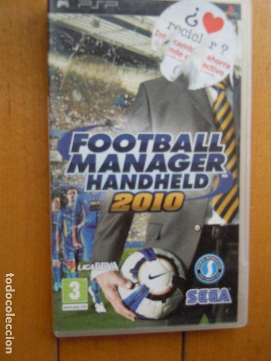 PSP FOOTBALL MANAGER HANDHELD 2010 SEGA (Juguetes - Videojuegos y Consolas - Sega - Sega 32x)