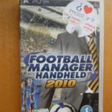 Videojuegos y Consolas: PSP FOOTBALL MANAGER HANDHELD 2010 SEGA . Lote 197819955