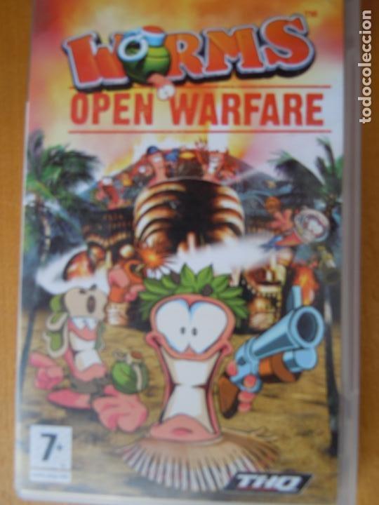 Videojuegos y Consolas: PSP , WORMS , OPEN WARFARE , CON INSTRUCCIONES - Foto 2 - 197820490