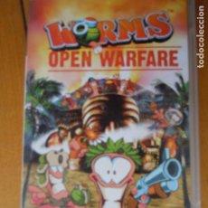 Videojuegos y Consolas: PSP , WORMS , OPEN WARFARE , CON INSTRUCCIONES . Lote 197820490