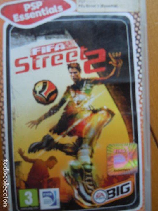 PSP ESSENTIALS , FIFA STREET 2 CON INSTRUCCIONES (Juguetes - Videojuegos y Consolas - Sega - Sega 32x)