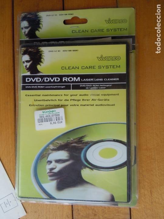 CINTA LIMPIADORA LASER DE DVD , DVD, LASER LEN CLEANER (Juguetes - Videojuegos y Consolas - Sega - Sega 32x)