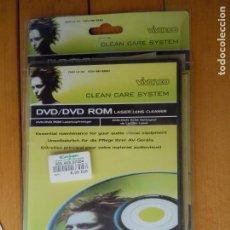 Videojuegos y Consolas: CINTA LIMPIADORA LASER DE DVD , DVD, LASER LEN CLEANER . Lote 197822568
