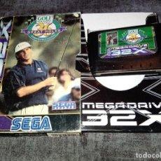 Videogiochi e Consoli: MD 32X -- GOLF MAGAZINE -- PAL ESPAÑOL. Lote 201948302