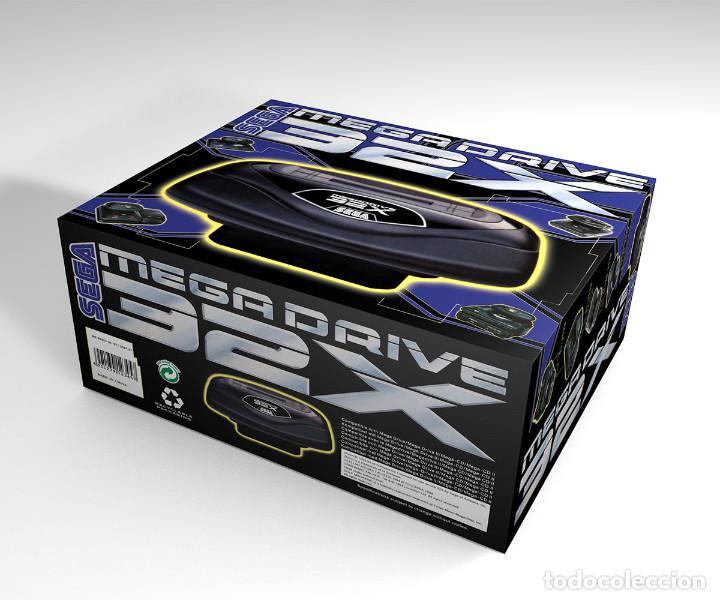 CAJA SEGA MEGADRIVE 32X REPRODUCCIÓN (NO INCLUYE LA CONSOLA) (Juguetes - Videojuegos y Consolas - Sega - Sega 32x)