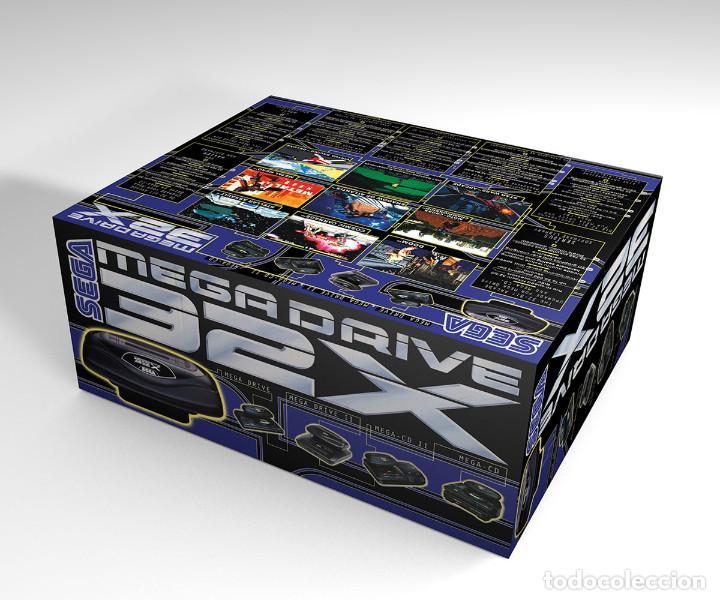 Videojuegos y Consolas: Caja Sega Megadrive 32x reproducción (no incluye la consola) - Foto 2 - 204703770
