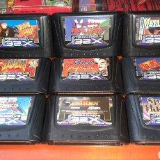 Videojuegos y Consolas: LOTE 32X MEGA32X MEGADRIVE32X MEGADRIVE SEGA. Lote 257879860