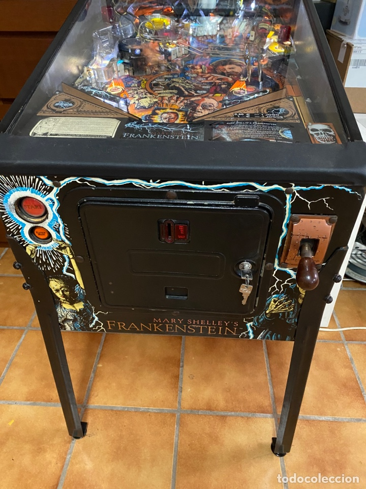 Videojuegos y Consolas: PINBALL FRANKENSTEIN SEGA 1995 - Foto 6 - 260681510