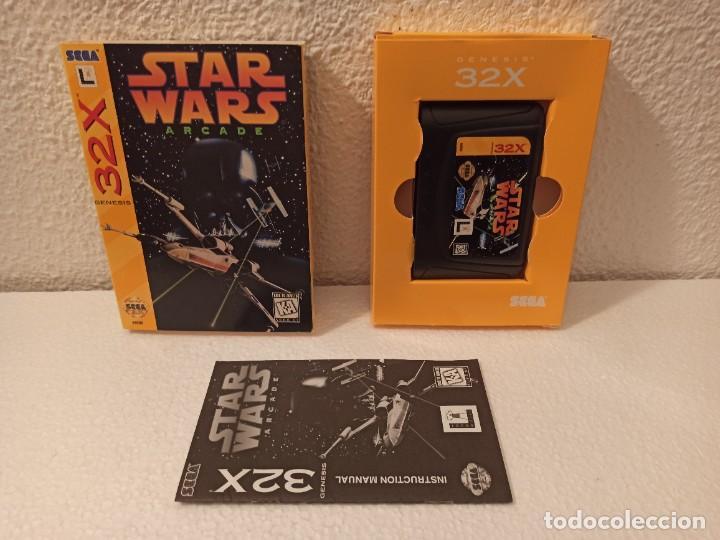 JUEGO STAR WARS 32X GENESIS (Juguetes - Videojuegos y Consolas - Sega - Sega 32x)