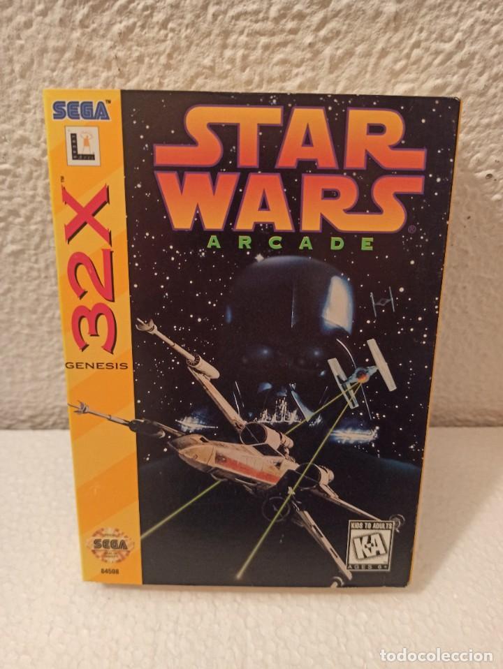 Videojuegos y Consolas: Juego Star Wars 32x Genesis - Foto 2 - 274609188