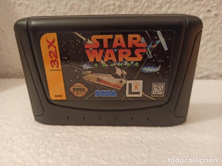 Videojuegos y Consolas: Juego Star Wars 32x Genesis - Foto 6 - 274609188