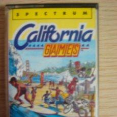 Videojuegos y Consolas: JUEGO CASSETE SPECTRUM CALIFORNIA GAMES EPYX ERBE SOFTWARE 1987. Lote 17524773