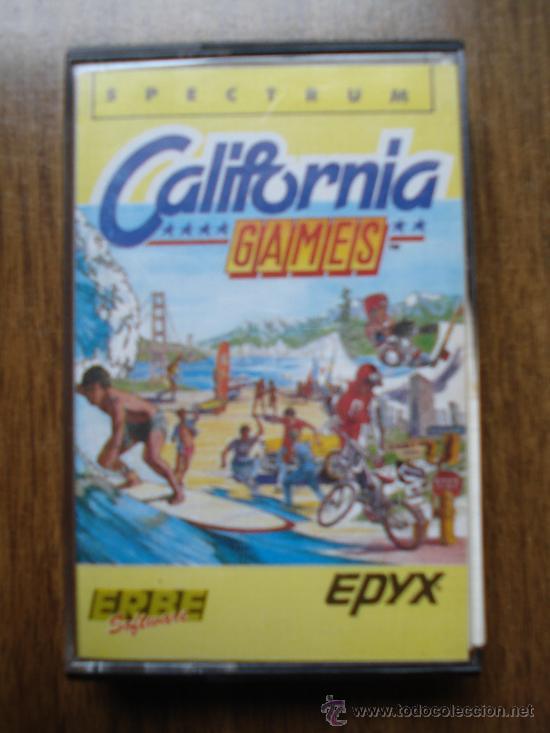 JUEGO SPECTRUM SINCLAIR, CALIFORNIA GAMES (Juguetes - Videojuegos y Consolas - Spectrum)